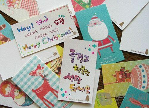 英语圣诞节贺卡格式范文_英语圣诞节贺卡格式图片