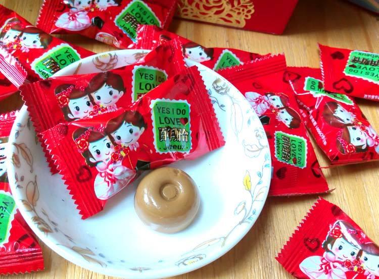 订婚喜糖一般一盒什么价位_没订婚前包糖