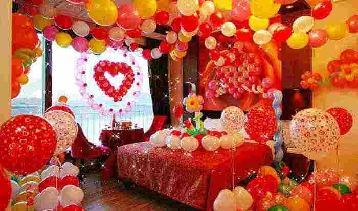 结婚房间长气球_结婚长气球造型教程