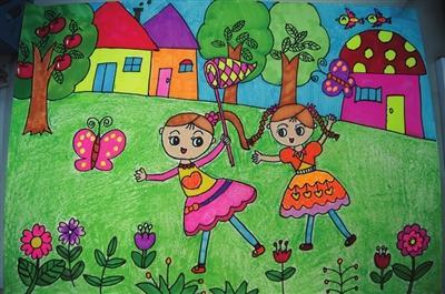 2019中元节的画儿童画_关于中元节的作文开头和结尾摘抄大全