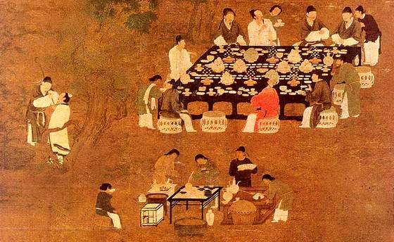 古代宴会形式_古代宴会形式ppt