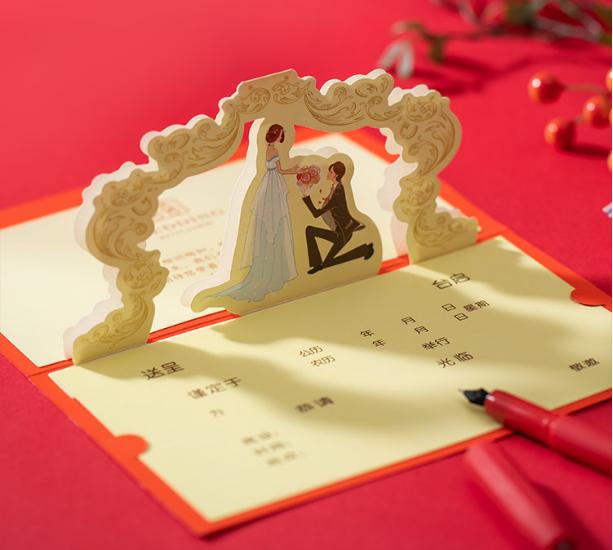 婚礼邀请词该怎么写?如何写更简单