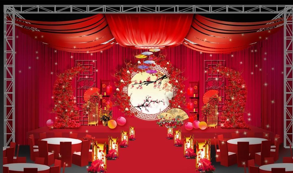 办个中式婚礼大概多少钱 制作请柬选择哪里